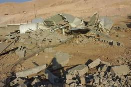 الاحتلال يهدم منزلين في أريحا
