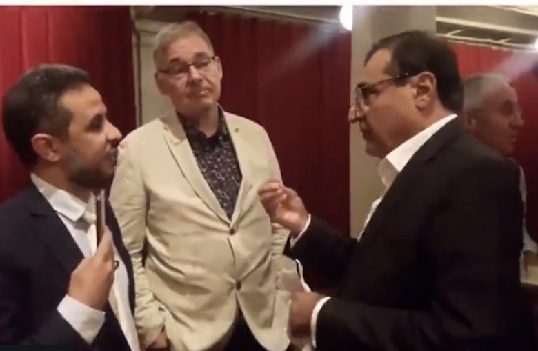 معارض سعودي يواجه سفير المملكة في هولندا حول خاشقجي