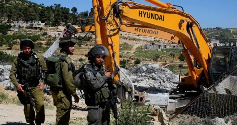 """""""أوتشا"""": الاحتلال هدم وصادر 27 مبنًى فلسطينيًا بأسبوعين"""