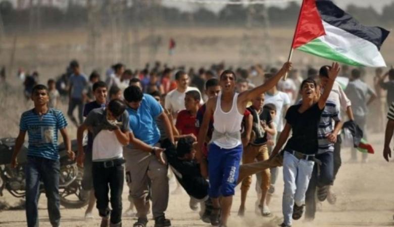 إصابات في مواجهات مع الاحتلال شرق القطاع