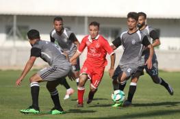 7 مباريات في دوري غزة اليوم