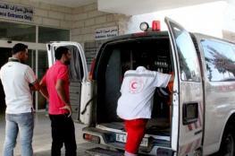 إصابة طفل في حادث سير في غزة