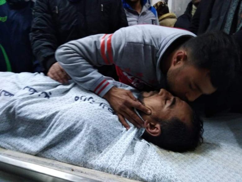 انتشال جثتي ضابط ومواطن من نفق تجاري برفح