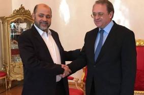 تفاصيل لقاء وفد من حماس بالمبعوث الروسي للمنطقة