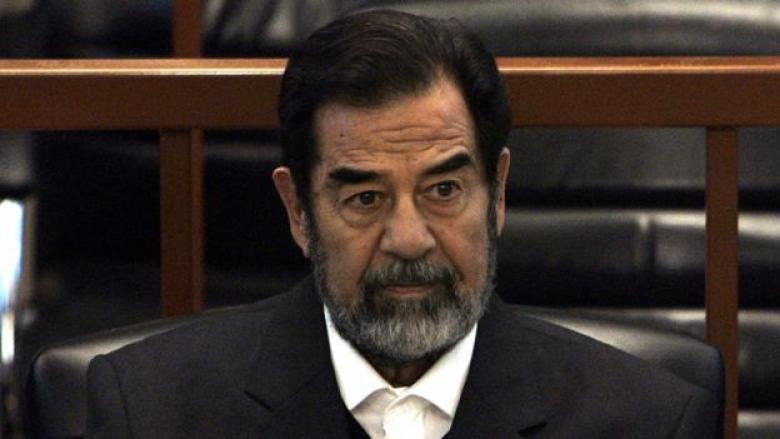 رسالة من الرئيس صدام حسين عقب استلامه نبأ وفاة أولاده