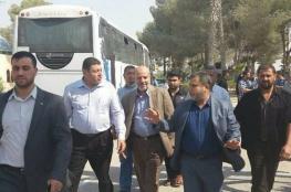 """وفد لجنة """"التكافل"""" يعود لغزة عبر معبر رفح البري"""