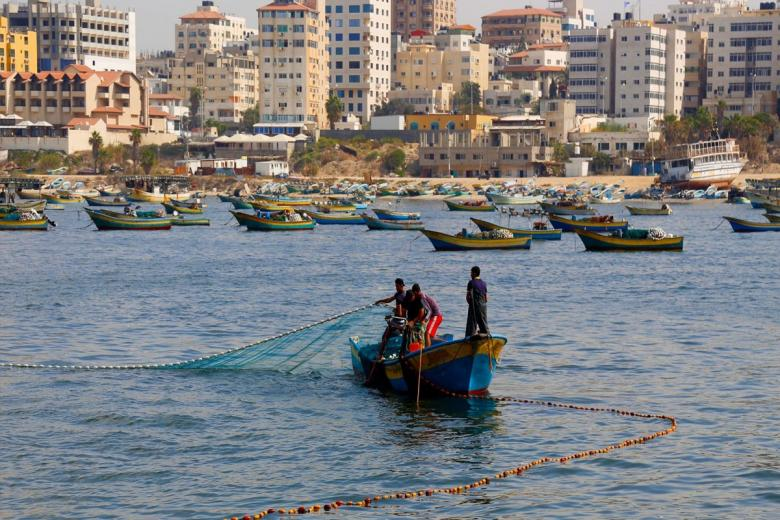 قرار من الاحتلال بخصوص مساحة الصيد وتصاريح التجارة