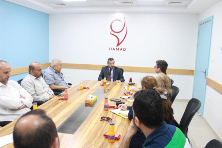 مستشفى حمد ووفد ألماني يبحثان التعاون لخدمة مبتوري الأطراف