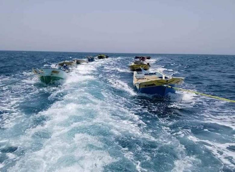 الاحتلال يُفرج عن 13 مركب صيد في بحر غزة
