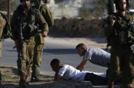 قوات الاحتلال تعتقل مواطنين غرب الخليل