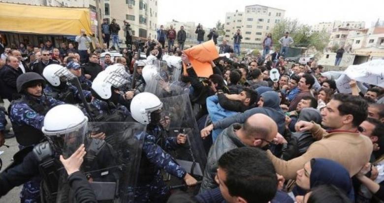 الجهاد تدين اعتداء أمن السلطة على مسيرات حماس بالضفة