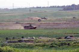 قوات الاحتلال تستهدف أراضي المواطنين بخانيونس