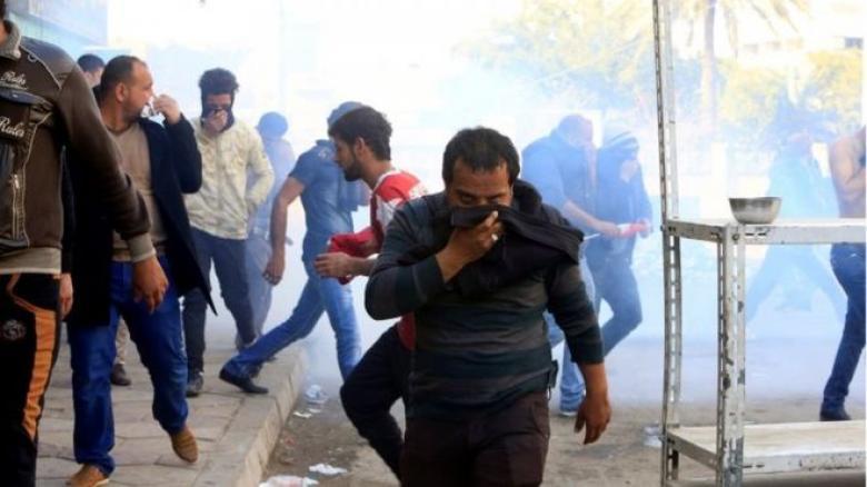 قتيل وجرحى في مظاهرة حاشدة للتيار الصدري في بغداد