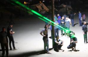 فعالية الإرباك الليلي شرق المحافظة الوسطى
