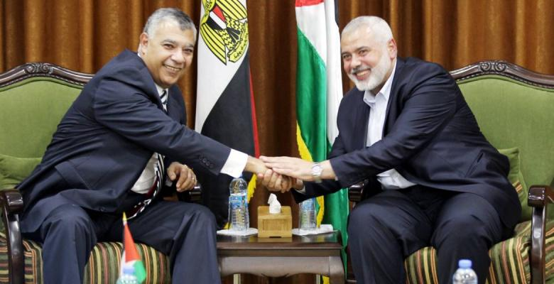 هنية يهاتف فوزي ويشكر مصر على إتمام المصالحة