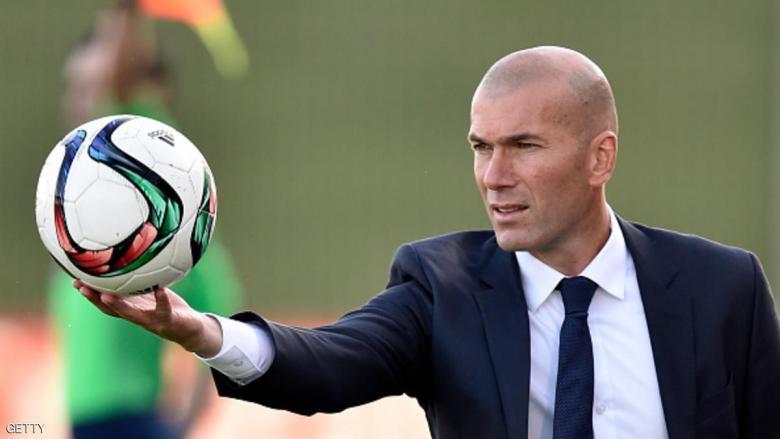 """ريال مدريد """"يتفق مع خليفة زيدان"""""""