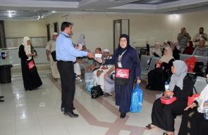 وصول الفوج الأول من حجاج بيت الله الحرام إلى قطاع غزة عبر معبر رفح
