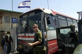 الاحتلال يصادر أربع حافلات قرب نابلس