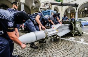 شاهد الصاروخ القطري الذي وُجد في إيطاليا