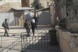 الاحتلال يعتقل مواطنة بزعم حيازتها سكينا بالخليل