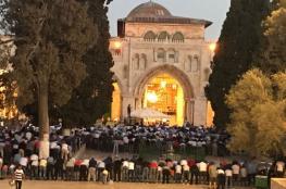 المسجد الأقصى: الاحتلال يفتح باب المطهرة فجر اليوم