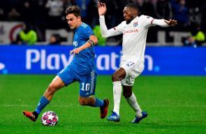 مباراة ليون ويوفنتوس في دوري أبطال أوروبا