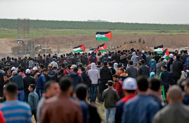 هذه نتائج اجتماع الهيئة الوطنية لمسيرات العودة بغزة