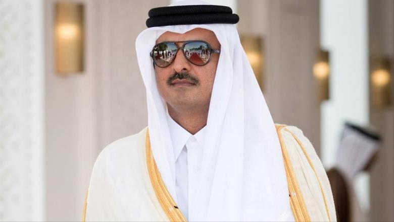 أمير قطر يتلقى دعوة رسمية من الملك السعودي لحضور القمة الخليجية الطارئة