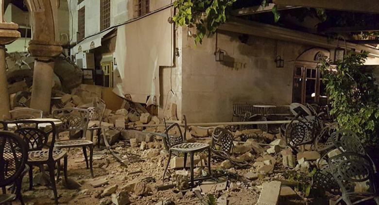 زلزال بقوة سبع درجات يضرب تركيا