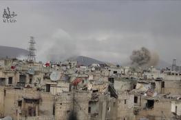 قوات النظام تقصف شرق دمشق ودرعا