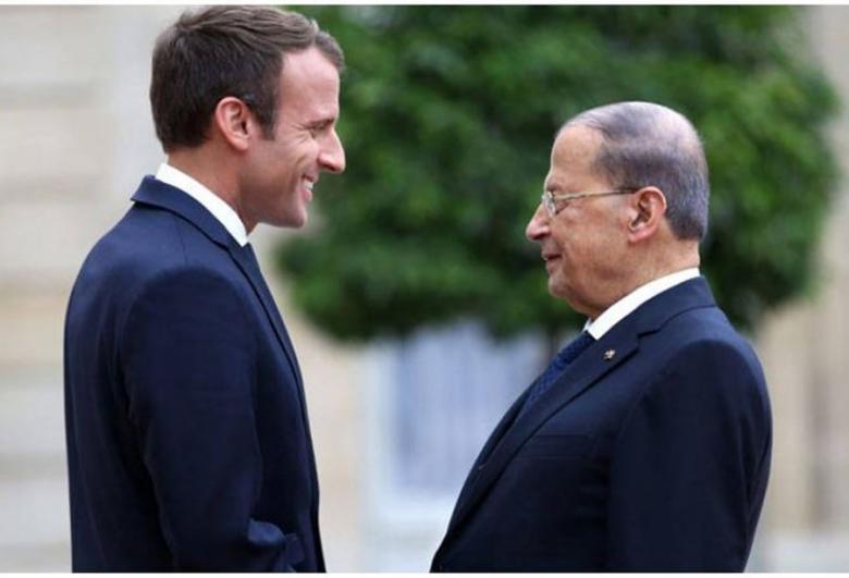 اتصال هاتفي بين ماكرون وعون... ماذا طلب الفرنسي؟
