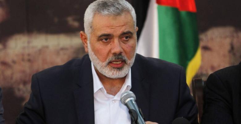"""هنية يعلن اعتذار حماس عن حضور """"المجلس المركزي"""""""