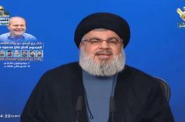 نصر الله: على الإسرائيليين أن يأخذوا تحذيرات لبنان بمنتهى الجدية