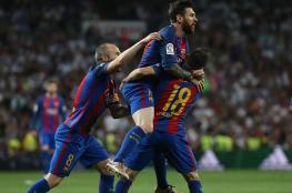 ميسي يصعق ريال مدريد في الوقت القاتل