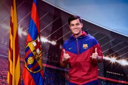 كوتينيو يبهر مسؤولي برشلونة