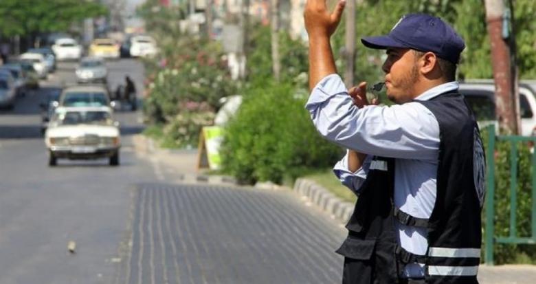 تنويه مروري لحالة الطرق بالتزامن مع انطلاق مسيرة مركزية بغزة