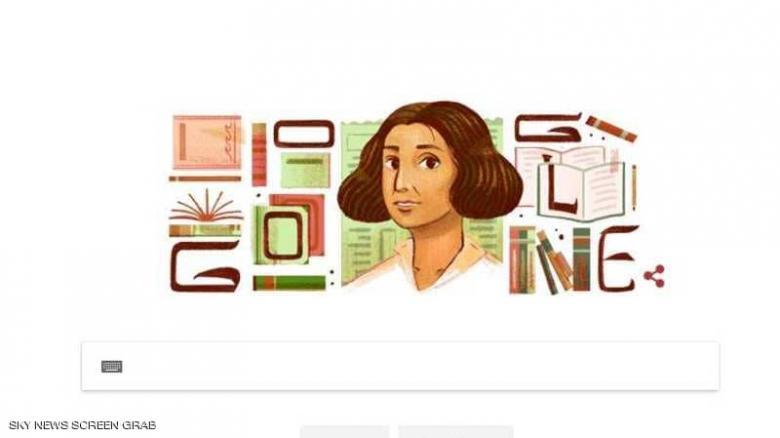 """غوغل يحتفي بالرائدة العربية """"عنبرة"""""""