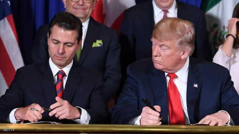 """أميركا وكندا والمكسيك.. اتفاق جديد بديلا لـ""""النافتا"""""""