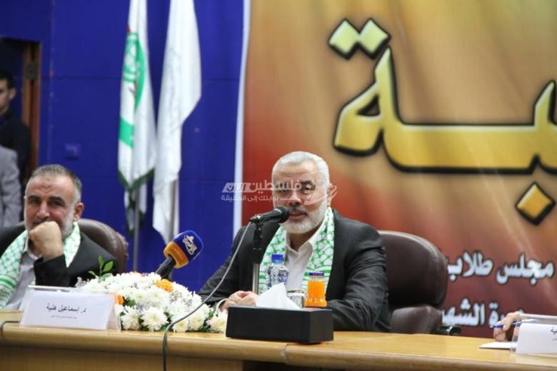 هنية: محطة القاهرة القادمة ستنطلق من اتفاقية 2011