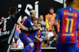 لاعبو برشلونة: سنتمسك بالأمل في الليغا حتى آخر الدقائق