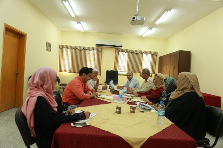 خانيونس: اجتماع اللجان التحضيرية لانتخابات لجان الأحياء