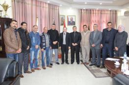 جامعة الأقصى تستقبل وفدًا من وزارة التنمية الاجتماعية