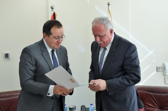 مصر تؤكد موقفها الداعم للشعب الفلسطيني