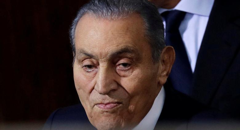 مبارك خضع لعملية استئصال ورم في المعدة