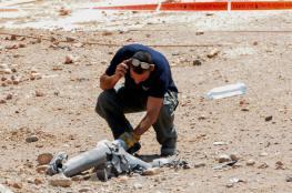 سقوط صاروخ بمنطقة مفتوحة بالنقب الغربي