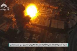 دمشق: الثوار يسيطرون على كراجات العباسيين بالكامل