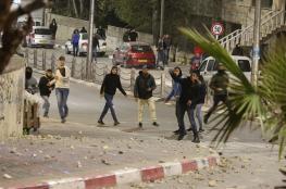 13 إصابة خلال مواجهات مع الاحتلال شرقي القدس