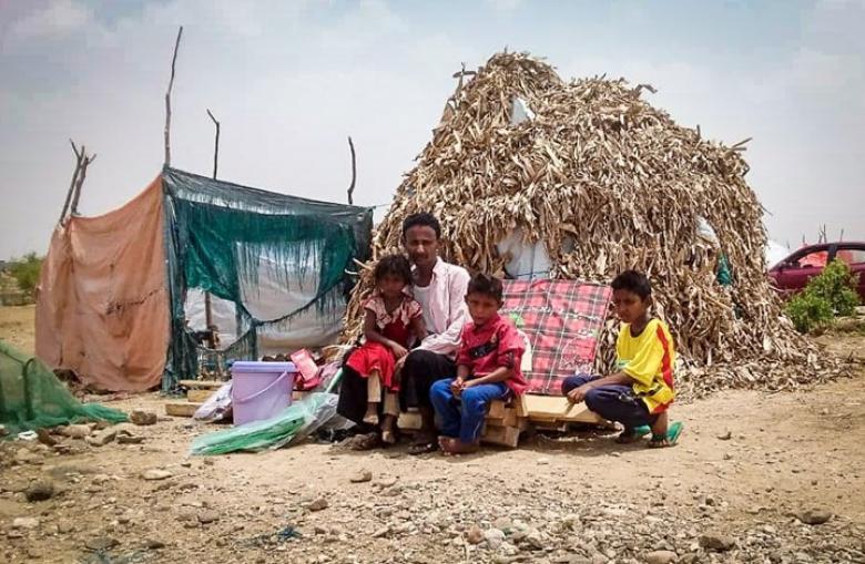 الأمم المتحدة تعلن أعداد النازحين في اليمن