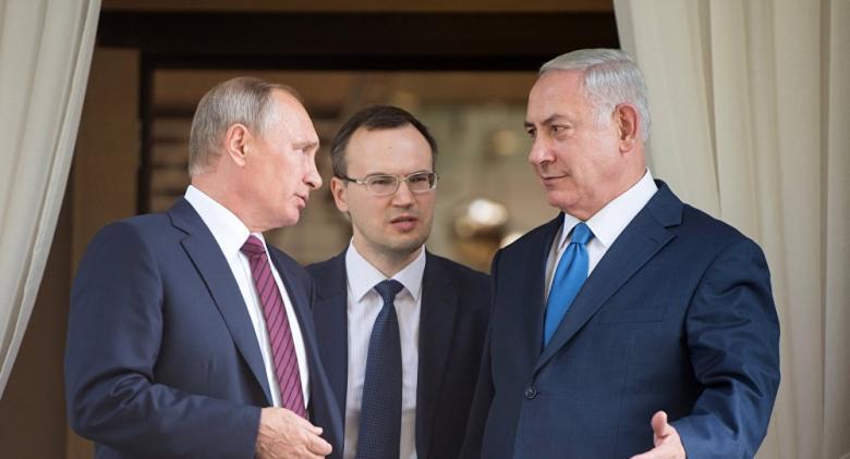 """بوتين يهاتف نتنياهو عشية زيارته لـ """"إسرائيل"""""""