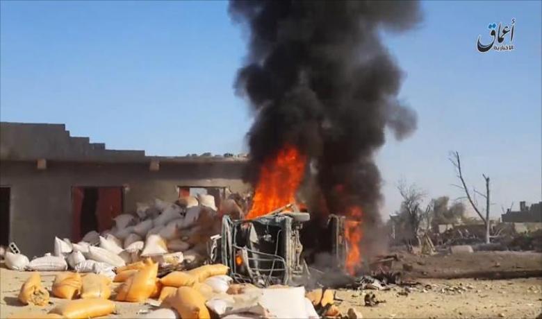 "بغداد تعلن قصفها اجتماعا ضم ""البغدادي"""